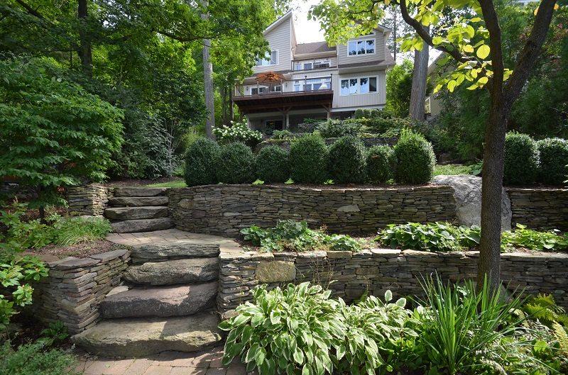 Building A Grade To Accommodate Landscape Erosion Tode Landscape