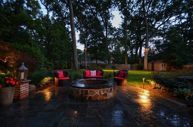 outdoor lighting patio