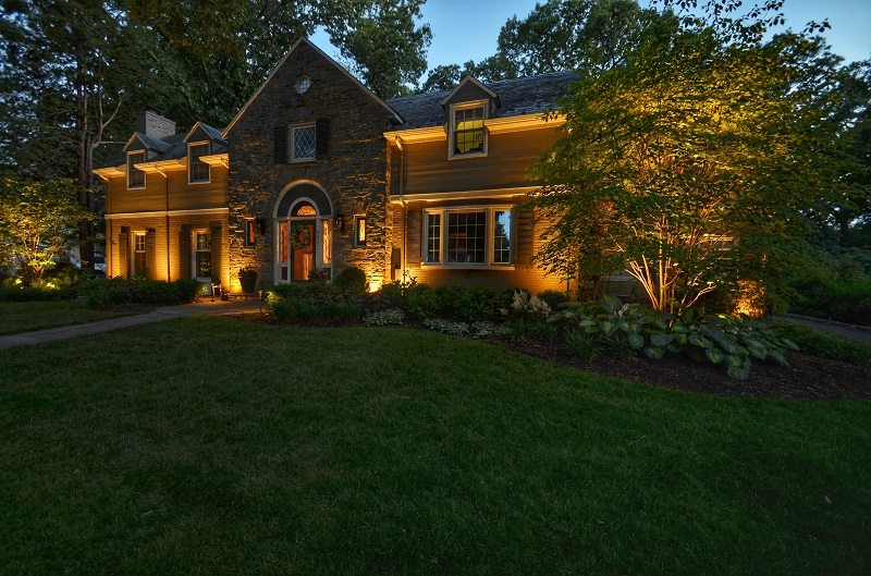 Sophisticated Home at Night