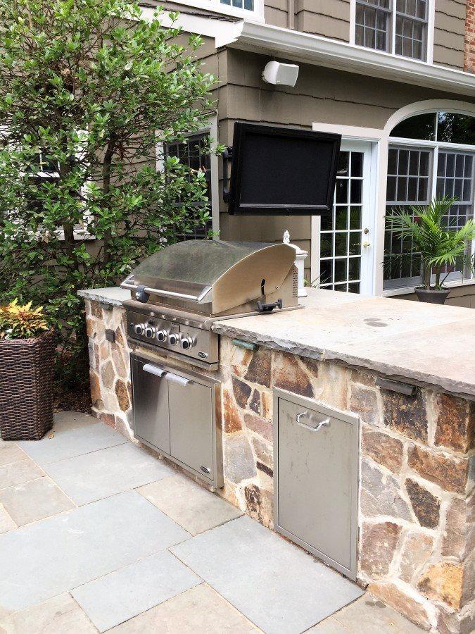 outdoor kitchens bars tode landscape. Black Bedroom Furniture Sets. Home Design Ideas