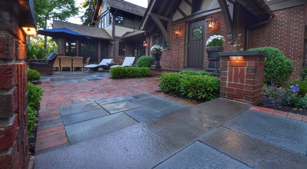 Completed Custom Patio Design